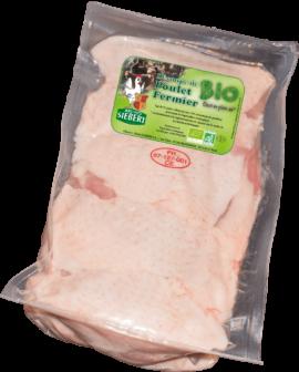 Bio Hähnchen Oberkeulen  ohne Knochen mit Haut