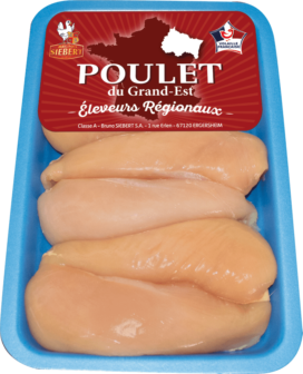 Corn-fed Chicken breast Grand-Est 1 Kg