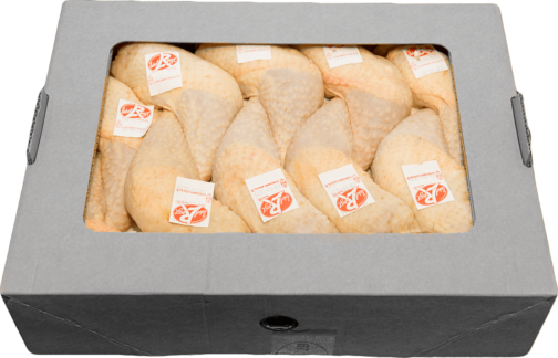 Whole farm-reared Label Rouge Corn fed Chicken leg x18