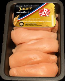 Whole farm-reared Label Rouge Corn fed Chicken breast x6