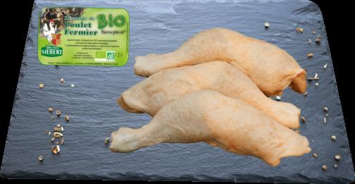 Organic Chicken leg