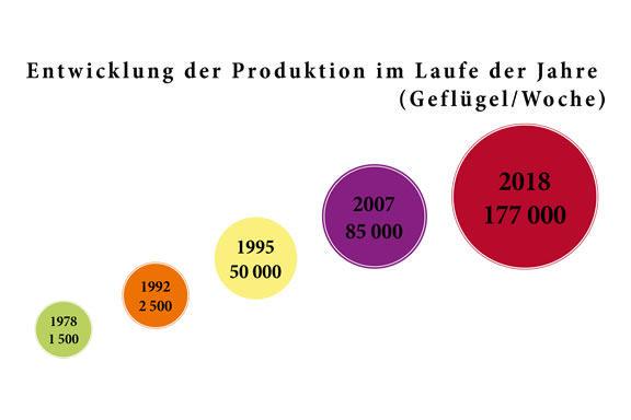 1993, Beginn der Exporte in die Schweiz