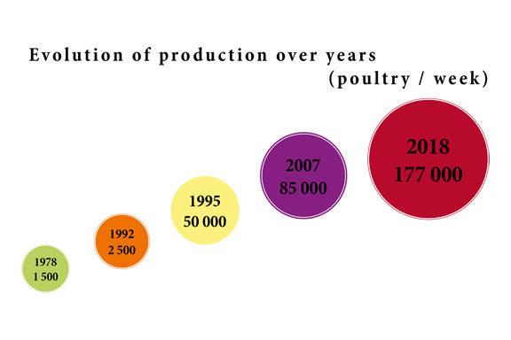 1993, start of exports to Switzerland